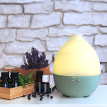 "Load image into Gallery viewer, Aroma Diffuser ""Alba"" Green"