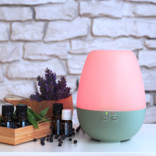 "Load image into Gallery viewer, Aroma Diffuser ""Diya"" Green"
