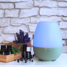 "Load image into Gallery viewer, Aroma Diffuser ""Dia"" Green"