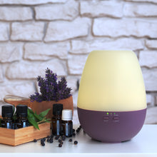 "Load image into Gallery viewer, Aroma Diffuser ""Dia"" Purple"