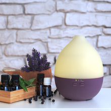 "Load image into Gallery viewer, Aroma Diffuser ""Alba"" Purple"