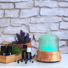 "Load image into Gallery viewer, Aroma Diffuser ""Crystal Pure"" with built in battery"