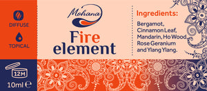 Aroma blend Fire Element, 10ml