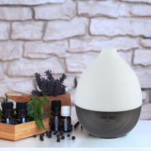 "Load image into Gallery viewer, Aroma Diffuser ""Alba"" Dark Wood"