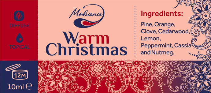 Aroma blend Warm Christmas, 10ml