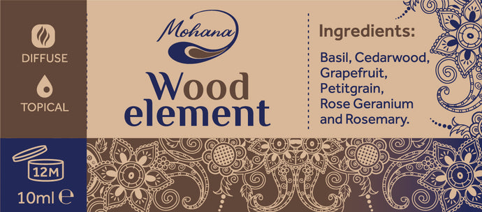 Aroma blend Wood Element, 10ml