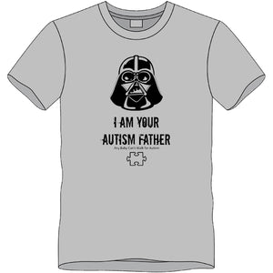 2017 I Am Your Autism Father T-shirt- 3XL