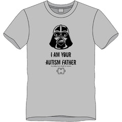 2017 I AM YOUR AUTISM FATHER T-SHIRT- L