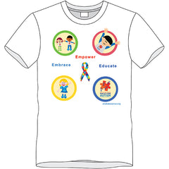 2016 Walk for Autism T-Shirt – Youth Large
