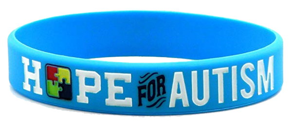 Hope for Autism Silicone Bracelets for Autism Awareness
