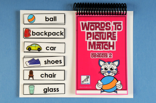 Words to Picture Match – Objects 2