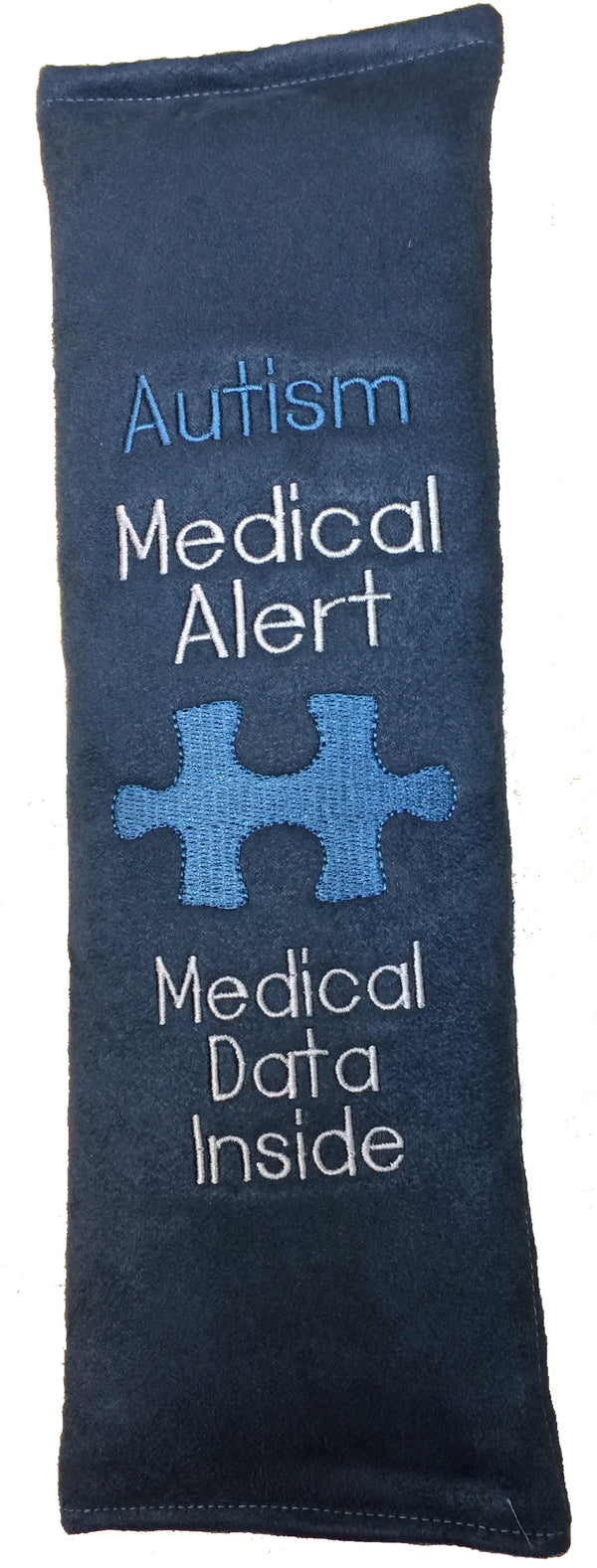 Medical Alert Seat Belt Cover