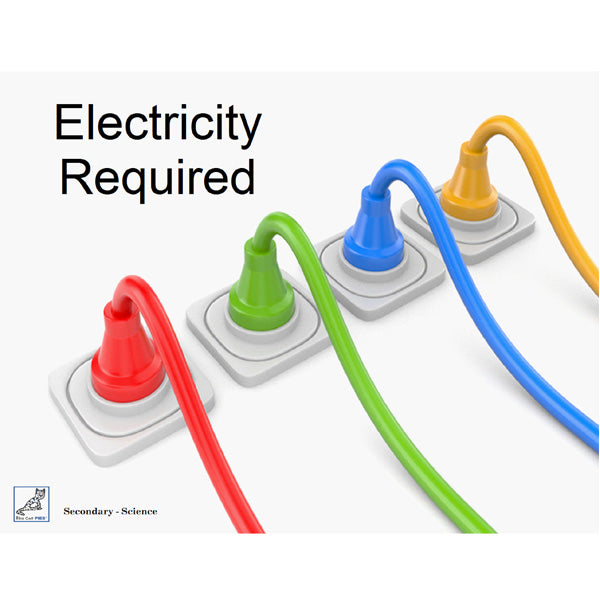 Electricity Required Book