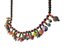 Powder Bead Rainbow Necklace