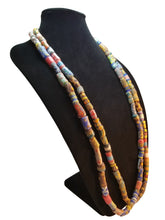 Krobo Bead Necklace - Pair