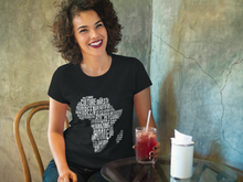 AFRICA Word Cloud Unisex T-Shirt