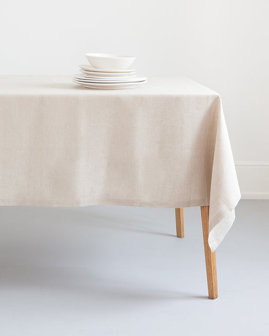 Natural Flax Table Linen