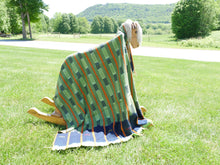 Baoule Throw Blanket