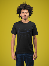 "Stop Lynching ""Blue Outline"" Short-Sleeve Unisex T-Shirt"