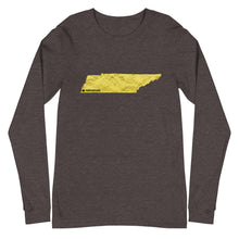 "Tennessee - ""Where I'm From"" Long Sleeve Unisex T-Shirt"