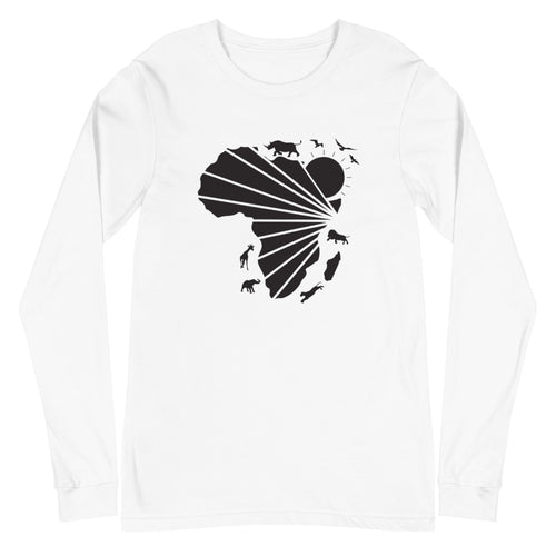 African Design Long Sleeve Unisex T-Shirt
