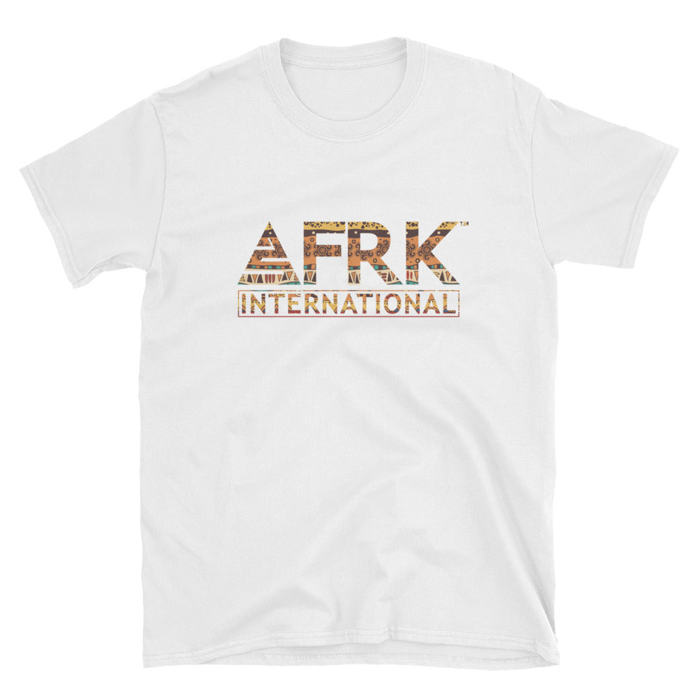 AFRK International Batik Print T-Shirt - Ethnic Pattern