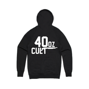 CULT PULLOVER HOODIE (BLACK/WHITE)