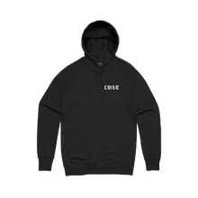 Load image into Gallery viewer, CULT PULLOVER HOODIE (BLACK/WHITE)
