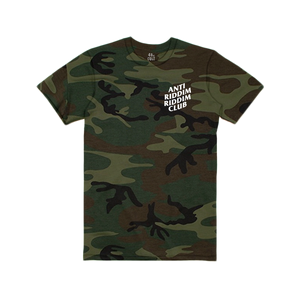 ANTI RIDDIM CLUB TEE (CAMO/WHITE)
