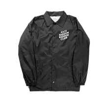 Load image into Gallery viewer, ANTI RIDDIM CLUB WINDBREAKER (BLACK/WHITE)