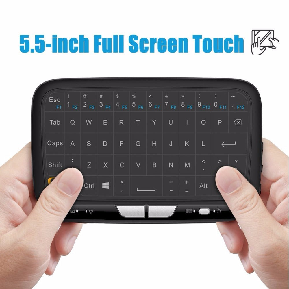 Wireless Gaming keyboard  2.4GHz  with Full Touchpad - Hyper420