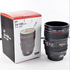 400ml Camera Lens Shaped Coffee Mug