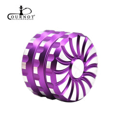 COURNOT Rotary Wheel  Diamond Teeth Herb Grinder