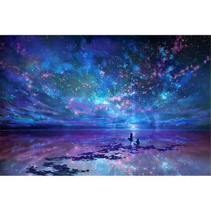 DIY PBN Arcylic Painting Romantic People Pictures By Numbers On Canvas Framed Wall Pictures Art For Living Room Home Decoration - Hyper420