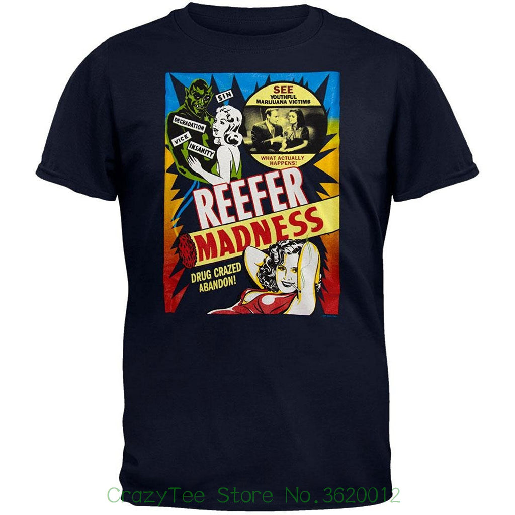"Men's ""Reefer Madness"" Poster Art T-shirt - Hyper420"