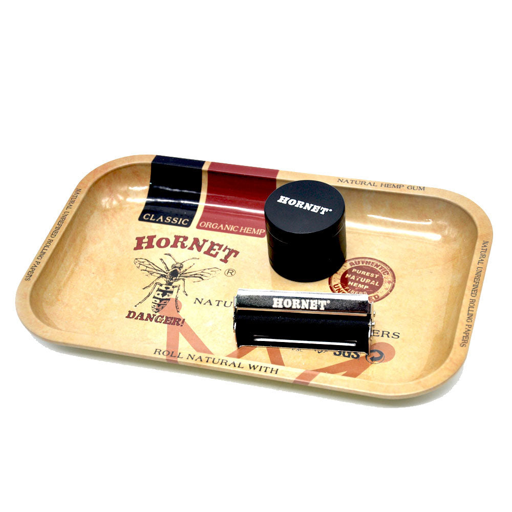 [ HORNET]Herb/Spice/Tobacco Rolling Tray 27.5cm*17.5cm*2.3cm Handroller Smoking Accessories Rolling Machine Grinder Storage Tray - Hyper420