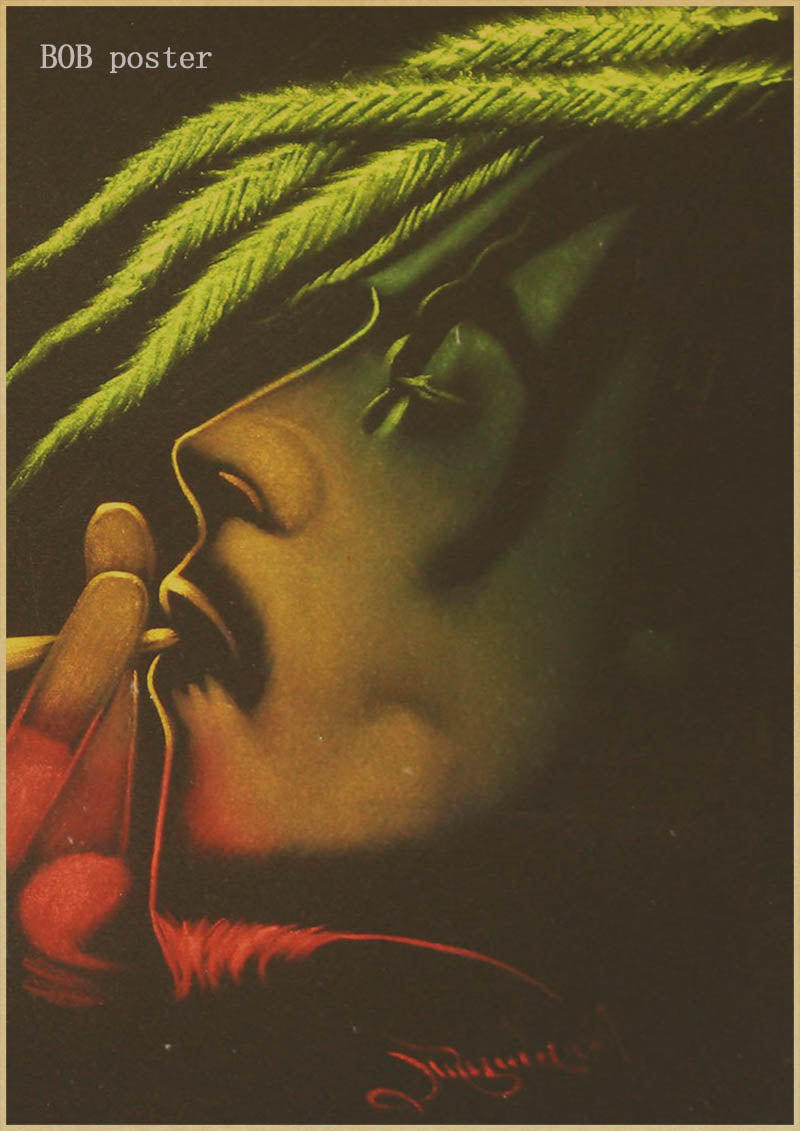 Smoker's Den Posters keep calm and smoke weed poster Bob marley/Jamaican  reggae