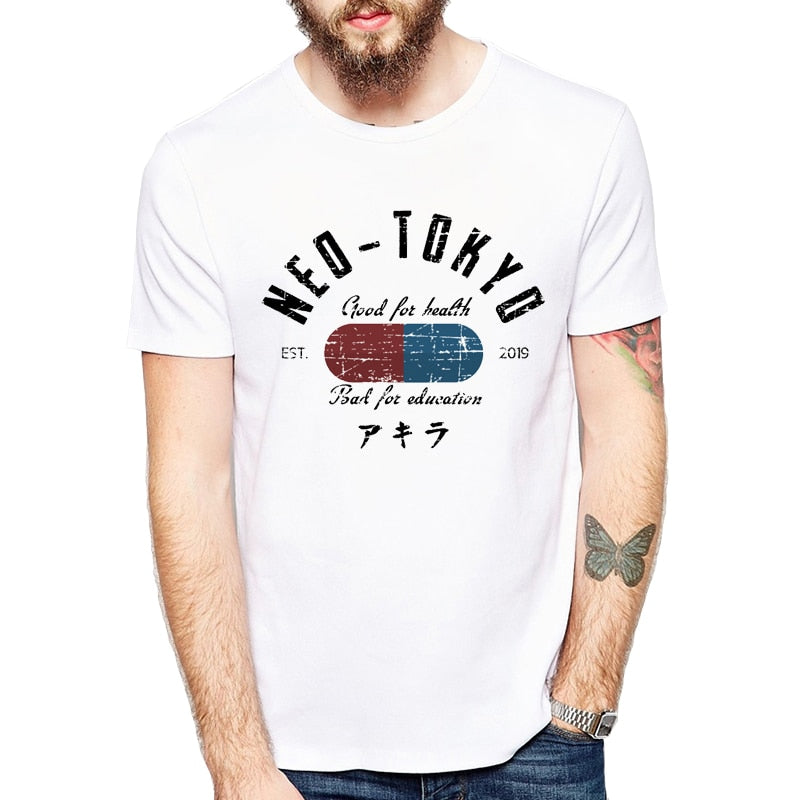 "Akira Neo Tokyo Pill ""Good for Health, Bad for Education"" T-shirt - Hyper420"