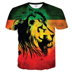 Lion of Zion T-Shirt S to 5XL