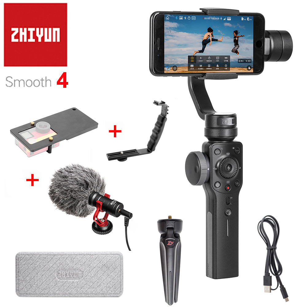 Zhiyun Smooth 4 3-Axis Handheld Smartphone Gimbal Stabilizer - Hyper420