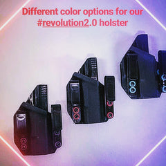 revolution 2.0 with colored washer options