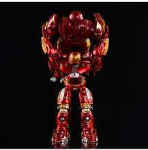 Avengers 2  Iron Man 18CM Hulkbuster Armor Joints Movable  PVC Action Figure Mark With LED Light  Collection Model Toy #E