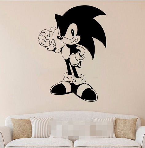 Sticker mural Sonic the hedgehog