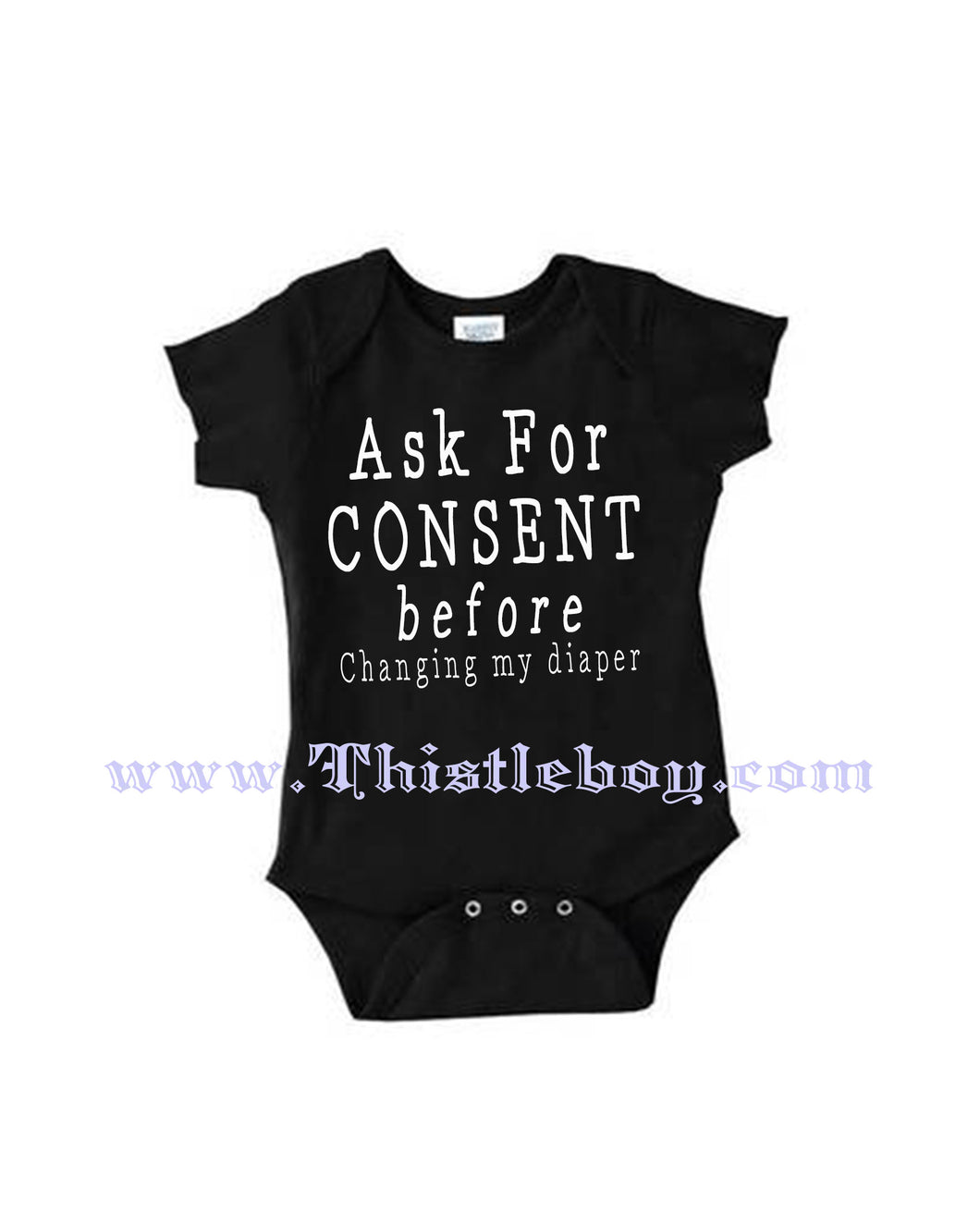 Ask Consent Before Changing Baby Shirt