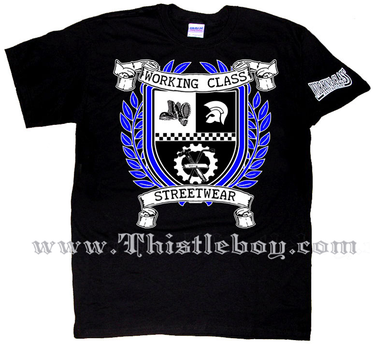 Working Class Streetwear Coat of Arms Tee Shirt