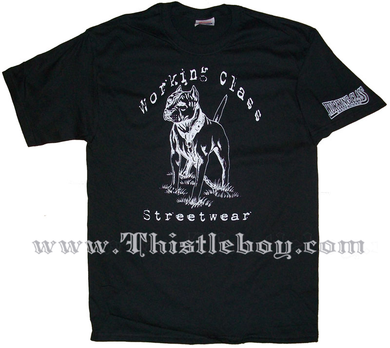 Working Class Pitbull Tee Shirt