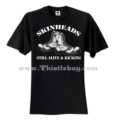 Skinheads Still Alive and Kicking Tee Shirt