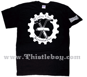 Working Class Streetwear Cog Tee Shirt