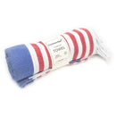CottonAge Avalon Series Turkish Towel, 375g, Navy - Red