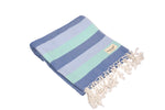 CottonAge Swan River Seris Turkish Towel - Peshtemal #Skyfall